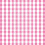 Pink gingham background Stock Photos