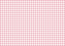 Pink Gingham Pattern Background Royalty Free Stock Photography