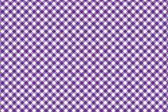 Pink Gingham pattern. Texture from rhombus/squares for - plaid, tablecloths, clothes, shirts, dresses, paper, bedding, blankets,. Quilts and other textile stock illustration