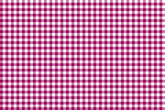 Pink Gingham pattern. Texture from rhombus/squares for - plaid, tablecloths, clothes, shirts, dresses, paper, bedding, blankets, royalty free illustration