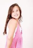 Pink Girl Royalty Free Stock Photos