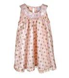 Pink girl's dress Stock Image