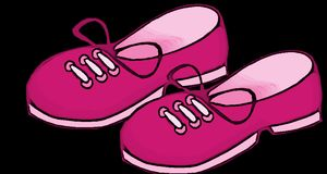 Pink, Girl, Shoes, Kids, Footwear Royalty Free Stock Photography