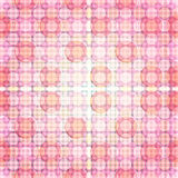 Pink Glare Dot pattern of repeat. Circled lines and geometric patterns of the tiles (print, swatches, seamless background, wallpaper, or repeat pattern repeat Royalty Free Stock Photography