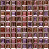Pink glass brick pattern Royalty Free Stock Photos