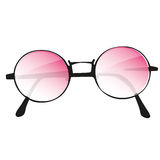 Pink glasses Royalty Free Stock Photos
