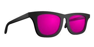 Pink glasses Stock Photo