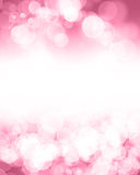 Pink glitter background Royalty Free Stock Photos