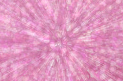 Pink glitter explosion lights abstract background Stock Images