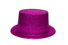 Pink Glitter Hat Royalty Free Stock Photography