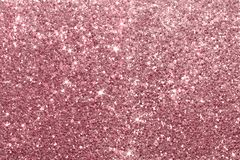 Pink glitter lights grunge background, glitter defocused abstract royalty free stock image