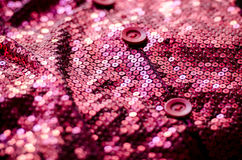 Pink glitter retro shirt Royalty Free Stock Photo