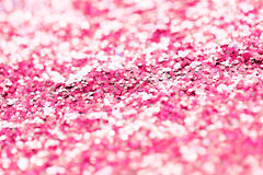 Pink glitter or sequins background Royalty Free Stock Images