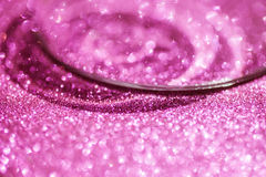 Pink glitter texture for background Stock Image