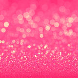 Pink glitter texture for retro background Stock Image
