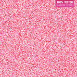Pink glitter vector background. Seamless pattern for wedding invitation, valentine day. Tender and glamorous sparkling Stock Photos