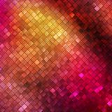 Pink glitters on a soft blurred background. EPS 10 Royalty Free Stock Photos