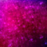 Pink glitters on a soft blurred background. EPS 10 Stock Photos