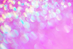 Pink Glittery Background Texture. Pink  colorful glitter bokeh, soft background texture Royalty Free Stock Photo