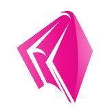 Pink Glossy Book Icon Royalty Free Stock Images