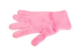 Pink glove Royalty Free Stock Photography