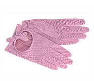 Pink gloves Stock Photography