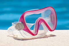 Pink goggles Royalty Free Stock Images