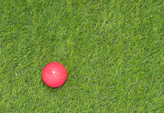 Pink golf ball Royalty Free Stock Images