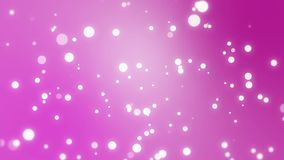 Pink gradient background with sparkles stock footage