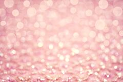 Pink gradient bokeh background. stock images