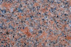 Pink granite natural rock Stock Photo