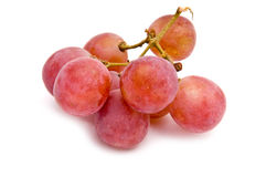 Pink grape Stock Photo