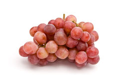 Pink grape cluster Royalty Free Stock Image