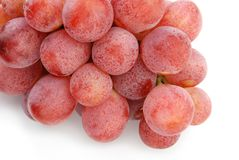 Pink grape in detail Royalty Free Stock Photos