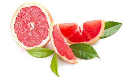 Pink grapefruit Royalty Free Stock Image
