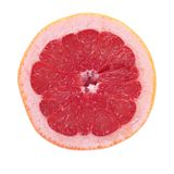 Pink Grapefruit Half Stock Image
