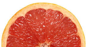 Pink Grapefruit Half Stock Photo