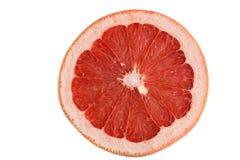 Grapefruit on white background royalty free stock photography