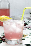 Pink Grapefruit Rum Royalty Free Stock Images