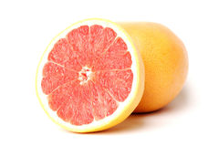 Pink grapefruit Stock Photography