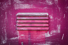 Pink grate Stock Image
