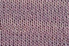 Pink-gray melange stockinet as background Stock Image