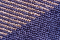 Background of stitches. A background made from the detail of a tapestry Royalty Free Stock Photos