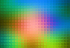 Pink green blue abstract rounded mosaic background Royalty Free Stock Image