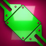 Pink and green bright background Royalty Free Stock Photography