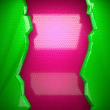 Pink and green bright background Stock Photography