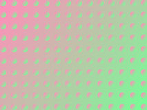 Pink-green circle background vector illustration