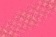Pink-green halftone background. Digital gradient. Abstract backdrop with circles, point, dots. Dotted pattern. Futuristic panel Vector illustration royalty free illustration