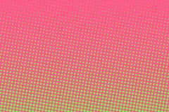 Pink-green halftone background. Digital gradient. Abstract backdrop with circles, point, dots. Dotted pattern. Futuristic panel Vector illustration stock illustration