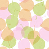Pink and green leaf Stock Images